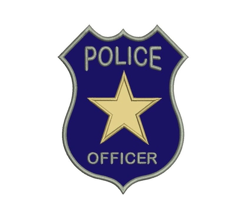 Download Police Badge For Kids Coloring Pages For Clipart Png Free Freepngclipart Police Police Embroidery Police Badge