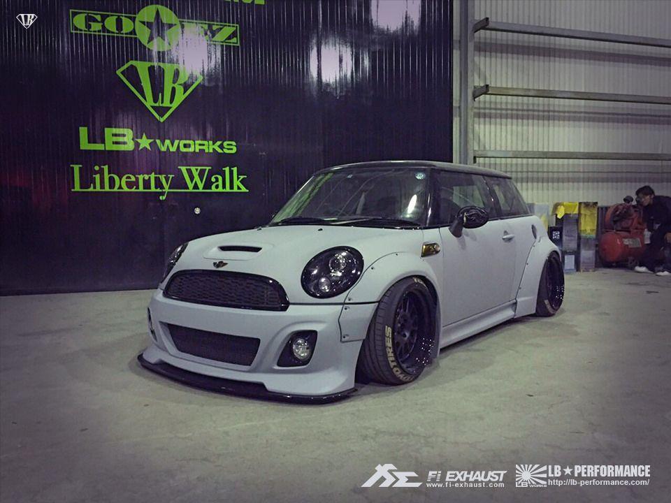 Liberty Walk Mini Cooper S R56 With Fi Exhaust