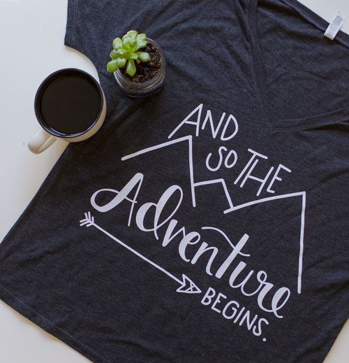 d6958e373 and so the adventure begins | GREAT MEN'S T-SHIRTS | Shirts, Fashion ...