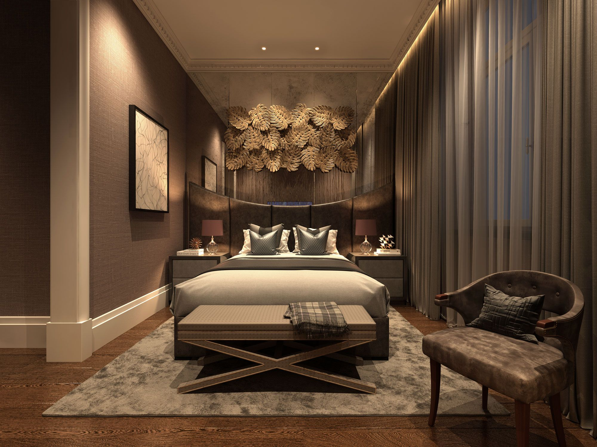 Elizabeth Apartment By Luxurious Bedrooms Luxury Real Estate Interior