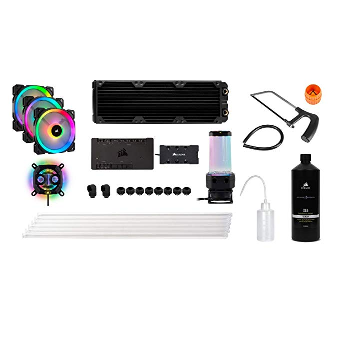 Corsair Hydro X Series Icue Xh300i Rgb Custom Cooling Kit In