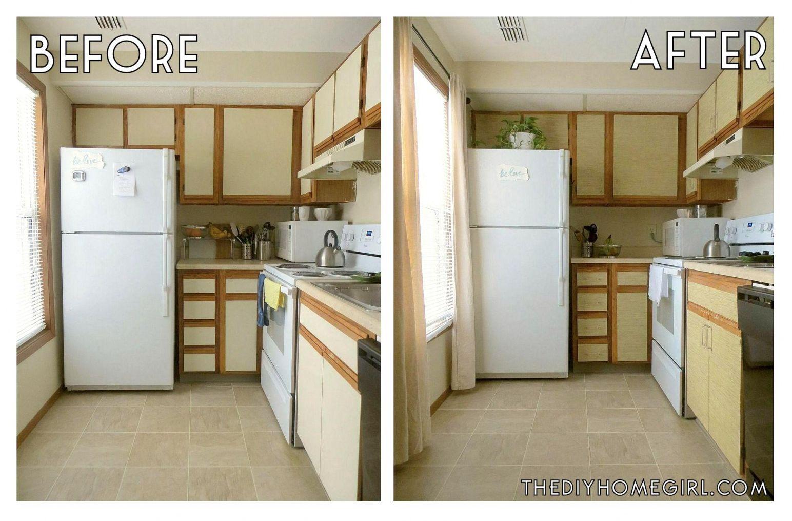 100+ Easy Kitchen Cabinet Makeover - Kitchen Backsplash Design Ideas ...