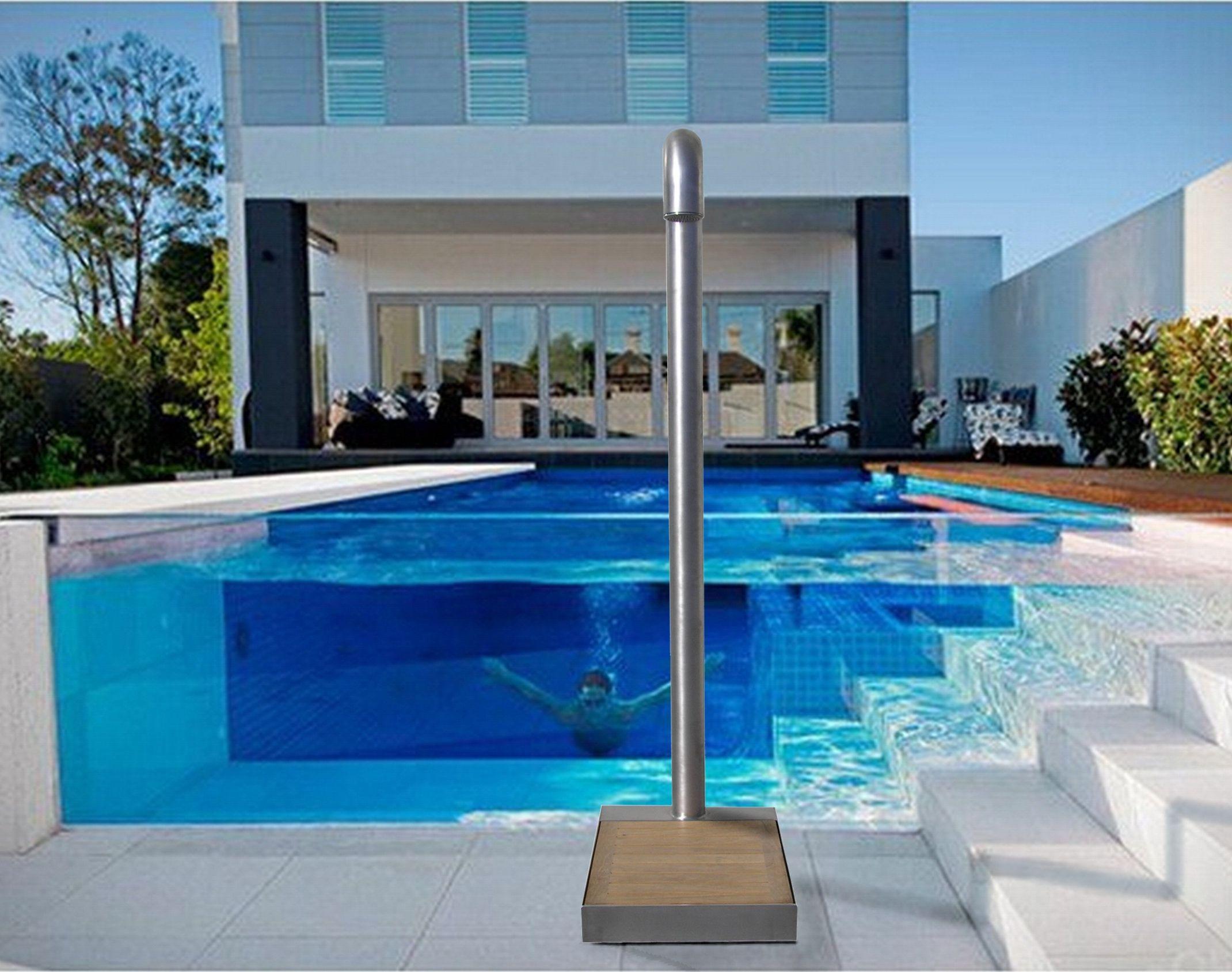 Easy shower a bordo piscina architecture pinterest for Piscinas ramirez