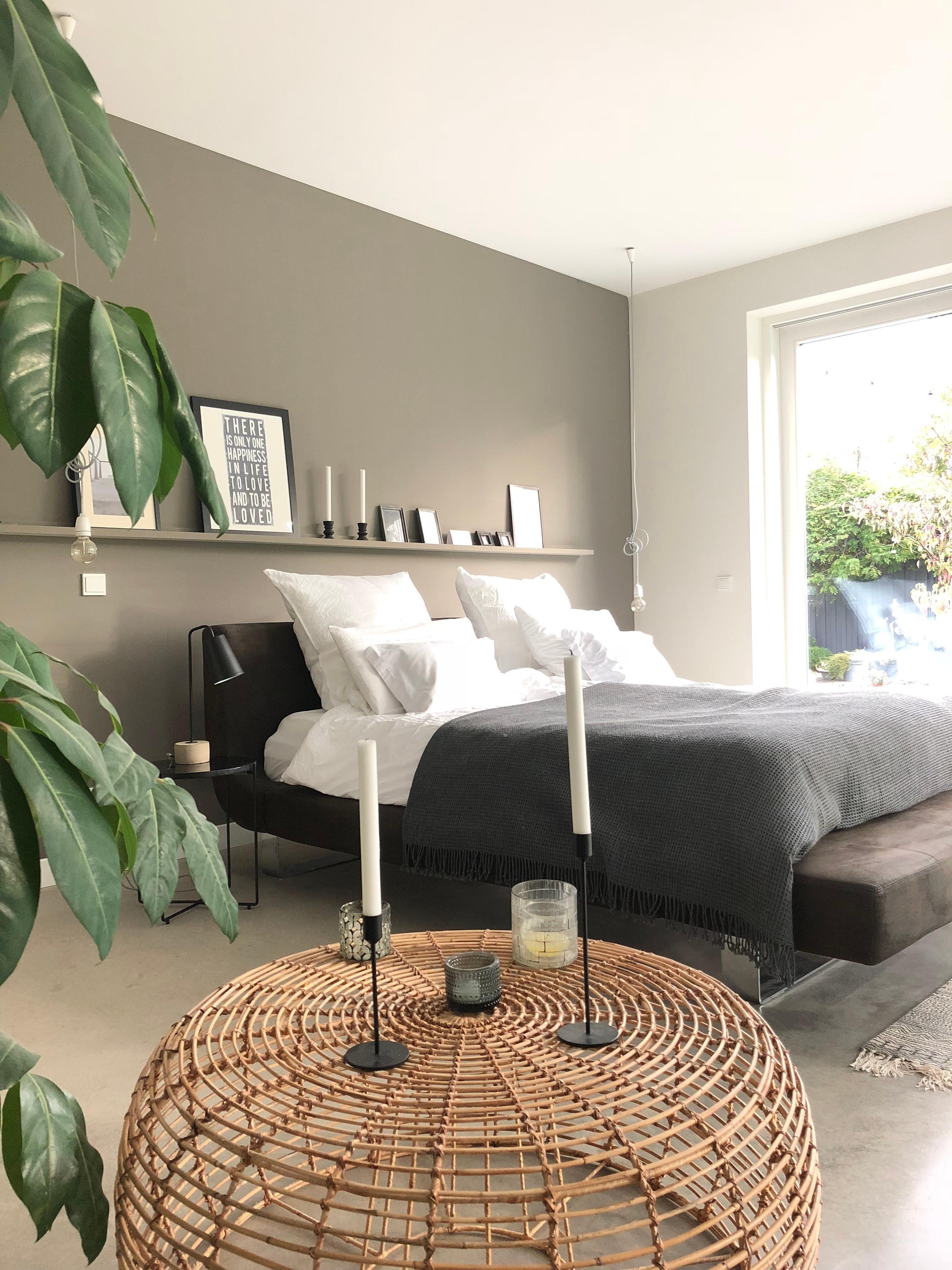 Photo of #schlafzimmer #minimalistisch #scandinavisch #grau # …