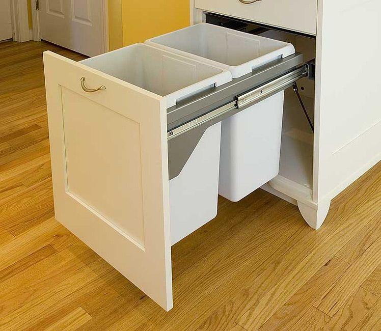 Kitchen Trash Drawer Kitchen Trash Drawer Google Image Result On Sich - Kitchen cabinet garbage drawer