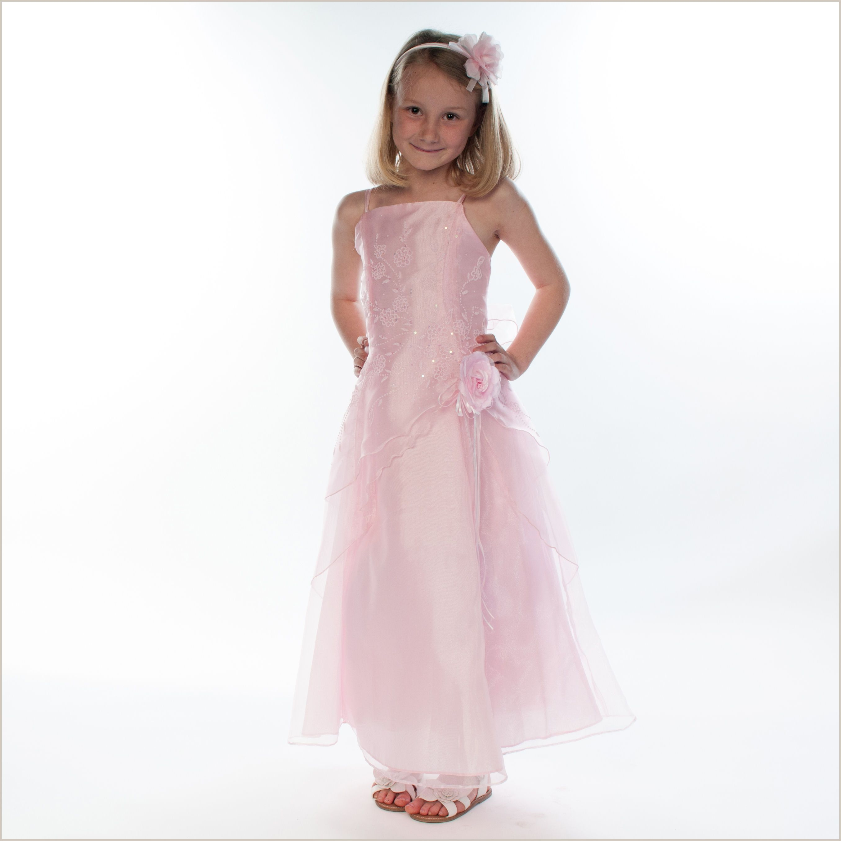 Nett Childrens Pink Bridesmaid Dresses Bilder - Brautkleider Ideen ...