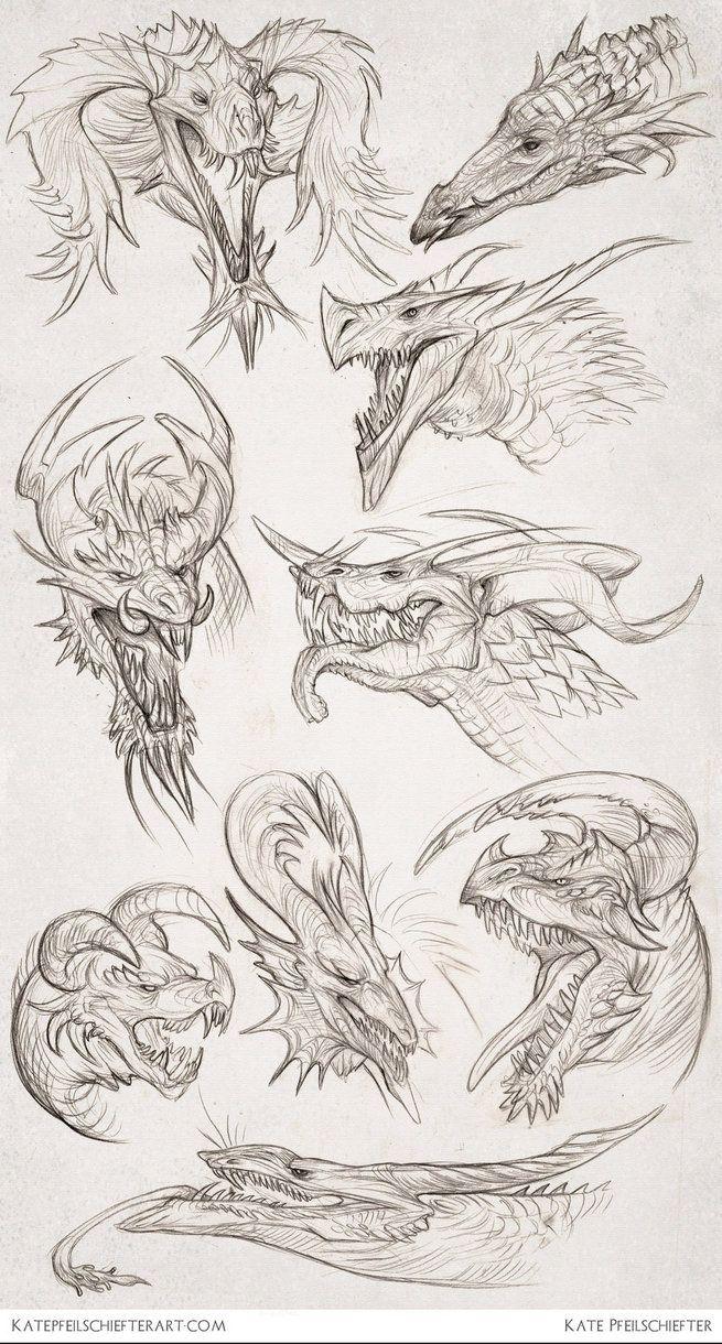 Daily Dragons by *KatePfeilschiefter on deviantART Inspiring