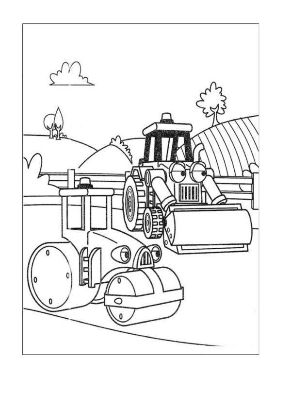 Dibujos para Colorear Bob el constructor 26