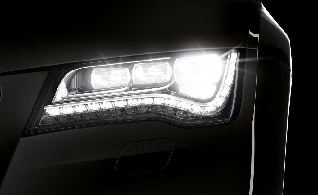 Audi A7 Headlight Led High Light Audi A7 Headlight And Audi A7