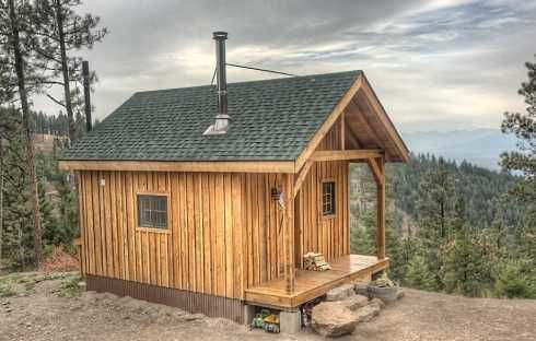 Hunting cabin plans hunting cabin cabins pinterest for Small shack plans