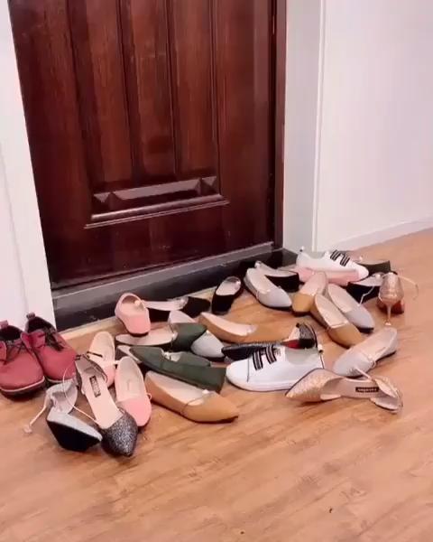 DIY shoe stand storage design