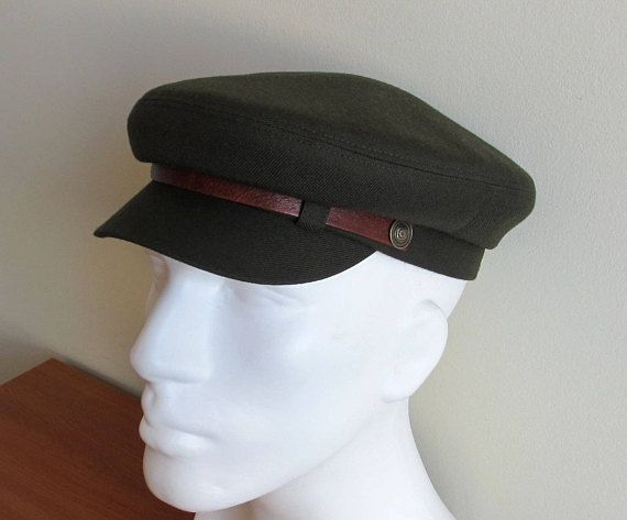 Mens Military Fiddler cap  Fishermans Hat  Driving Army Cap  Newsboy ... ebbc5d21665