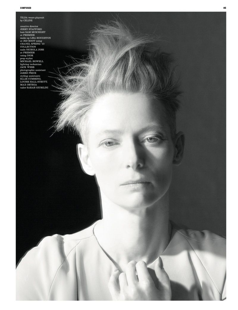 Musa do dia: Tilda Swinton - Reverbera, querida!