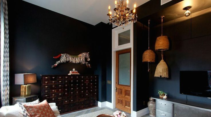 Black Rooms Are You Bold Enough To Try This Black Rooms Home