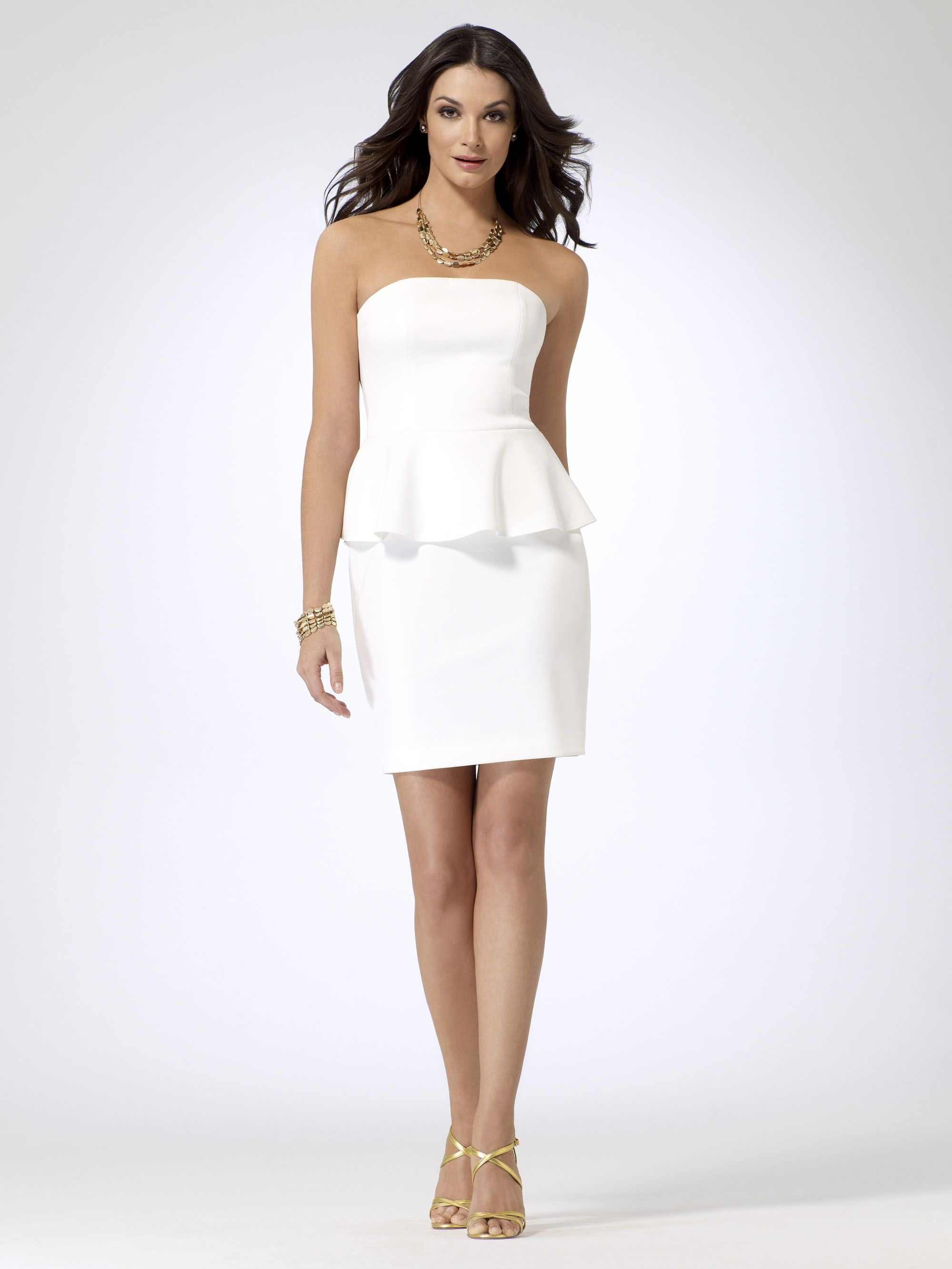 Yacht party cocktail dress