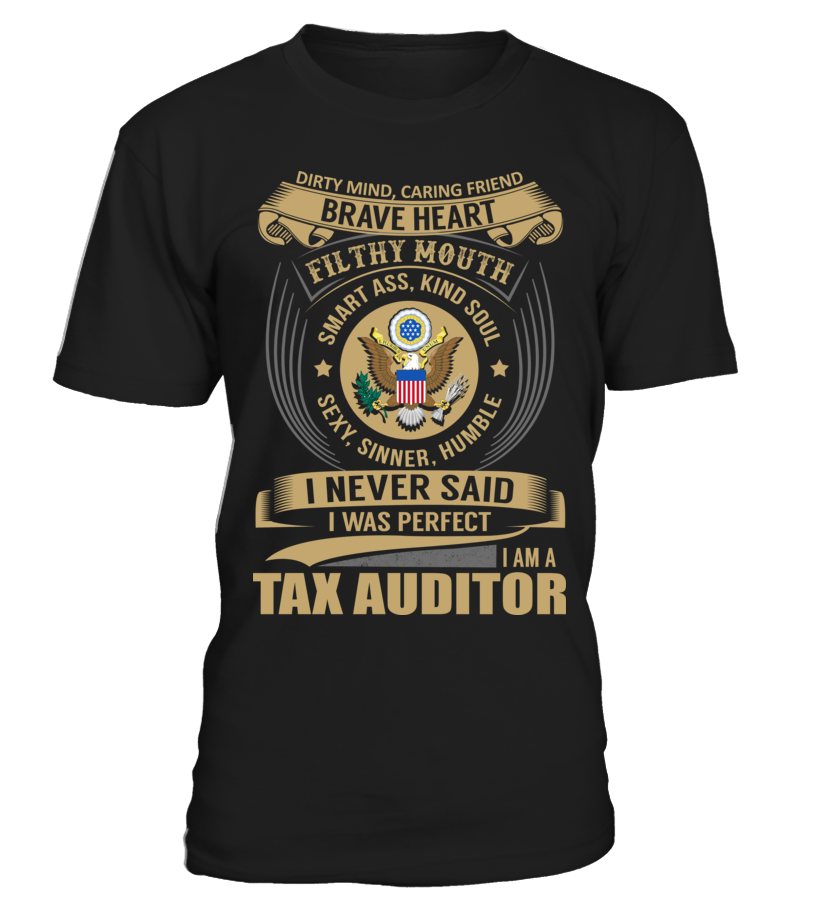 Tax Auditor - Never Said I Was Perfect