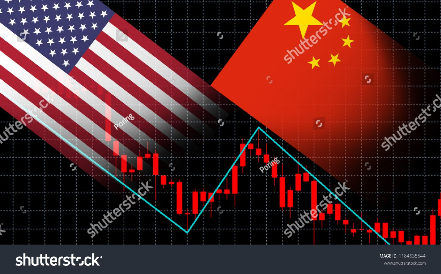 Financial Crisis Stock Market Graph Chart Of Investment Screen Trading On The Currency Market Forex Us Chart Investment Stock Market Chart Stock Market Graph
