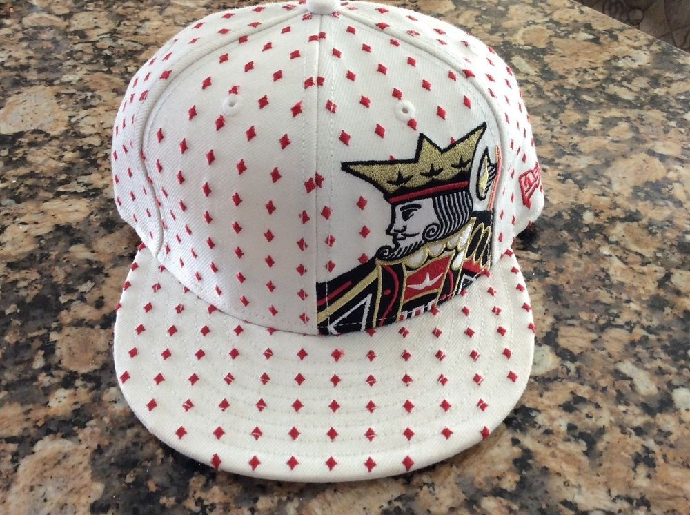 New Era Extremely Rare King Of Diamonds 59 Fifty Fitted Hat ...
