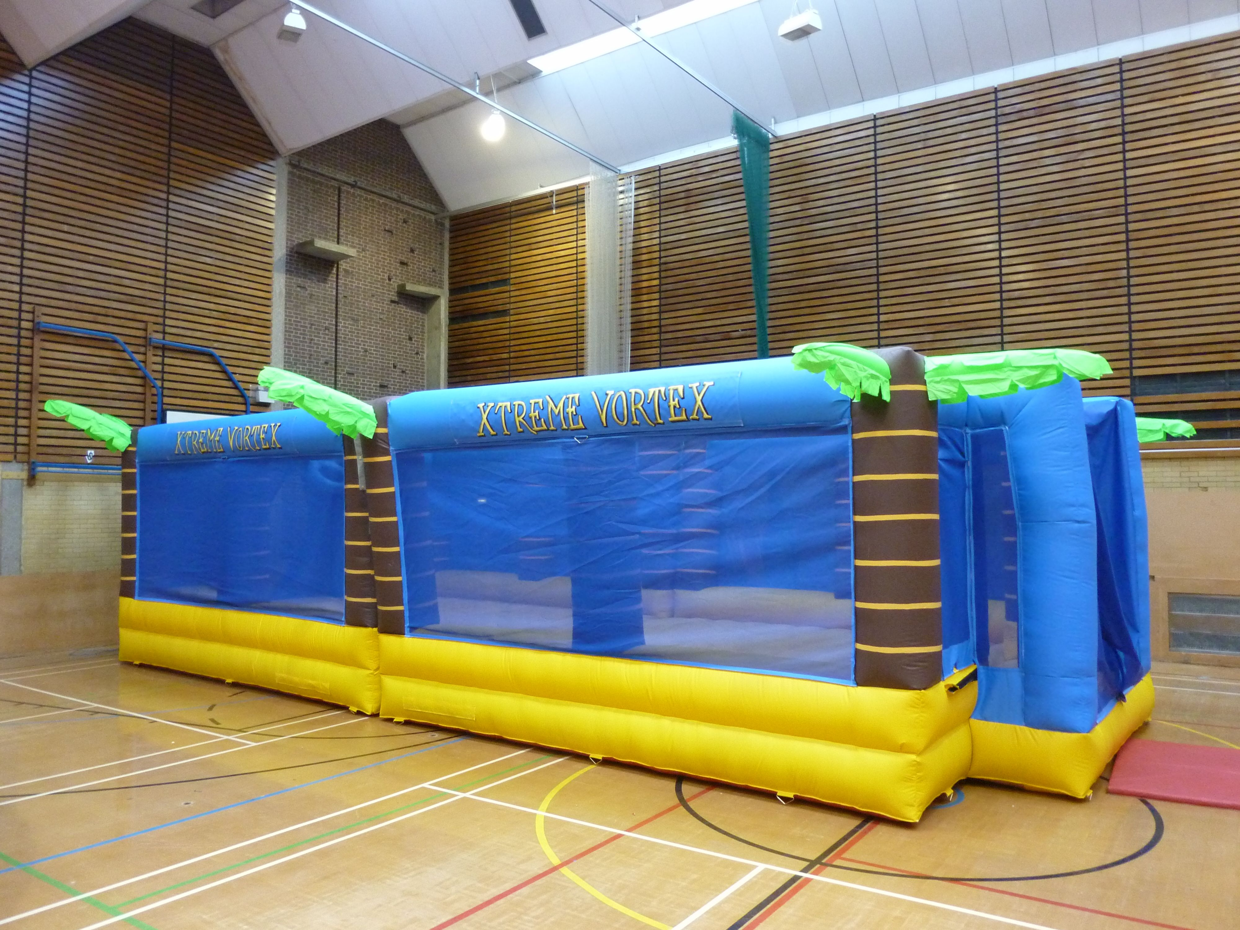 Inflatable sports arena hire sports arena team building