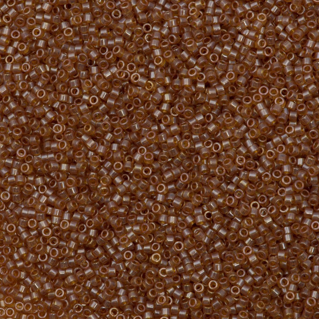 Miyuki Delica Seed Bead 11/0 Transparent Topaz Luster 5g DB1221