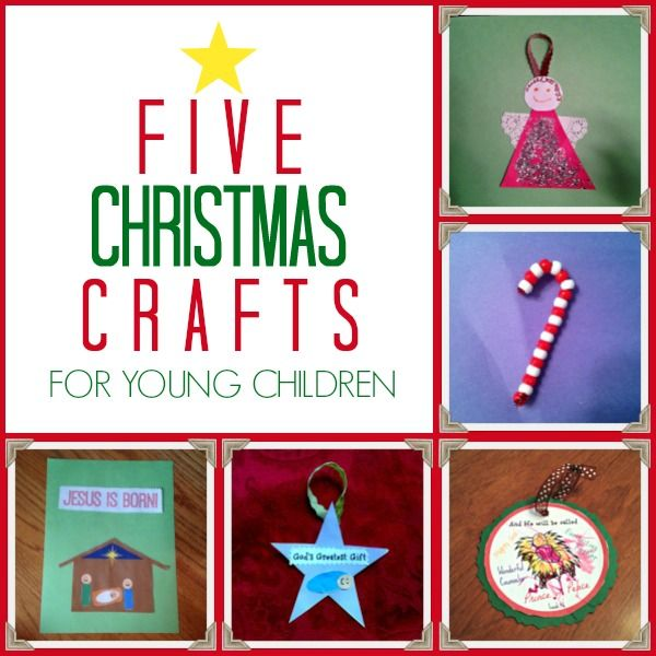 5 Simple Christmas Crafts For Toddlers Preschoolers