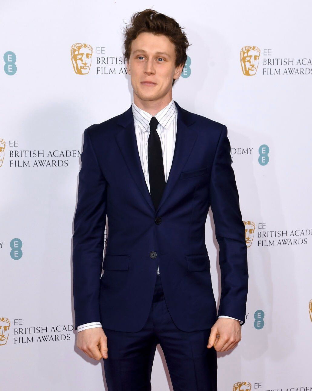 Actor George MacKay attends the EE BAFTA after-party