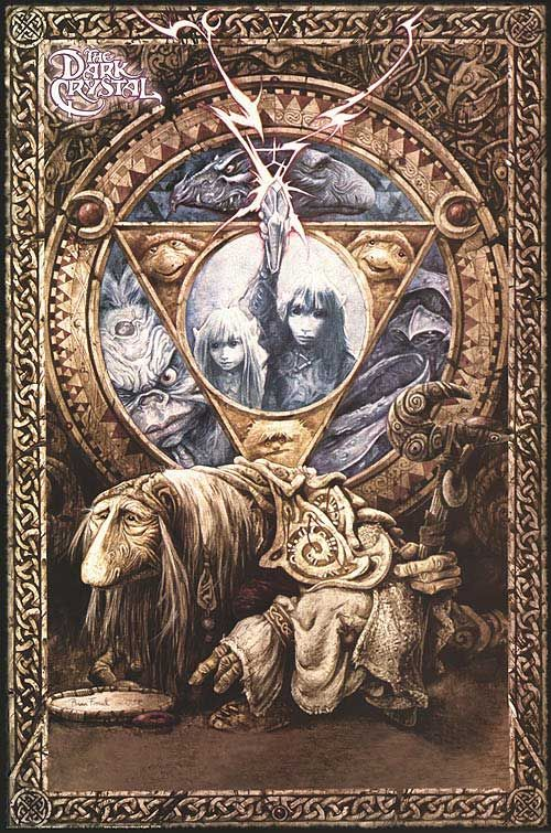NEW BRIAN FROUD PRINT THE DARK CRYSTAL MOVIE POSTER 1