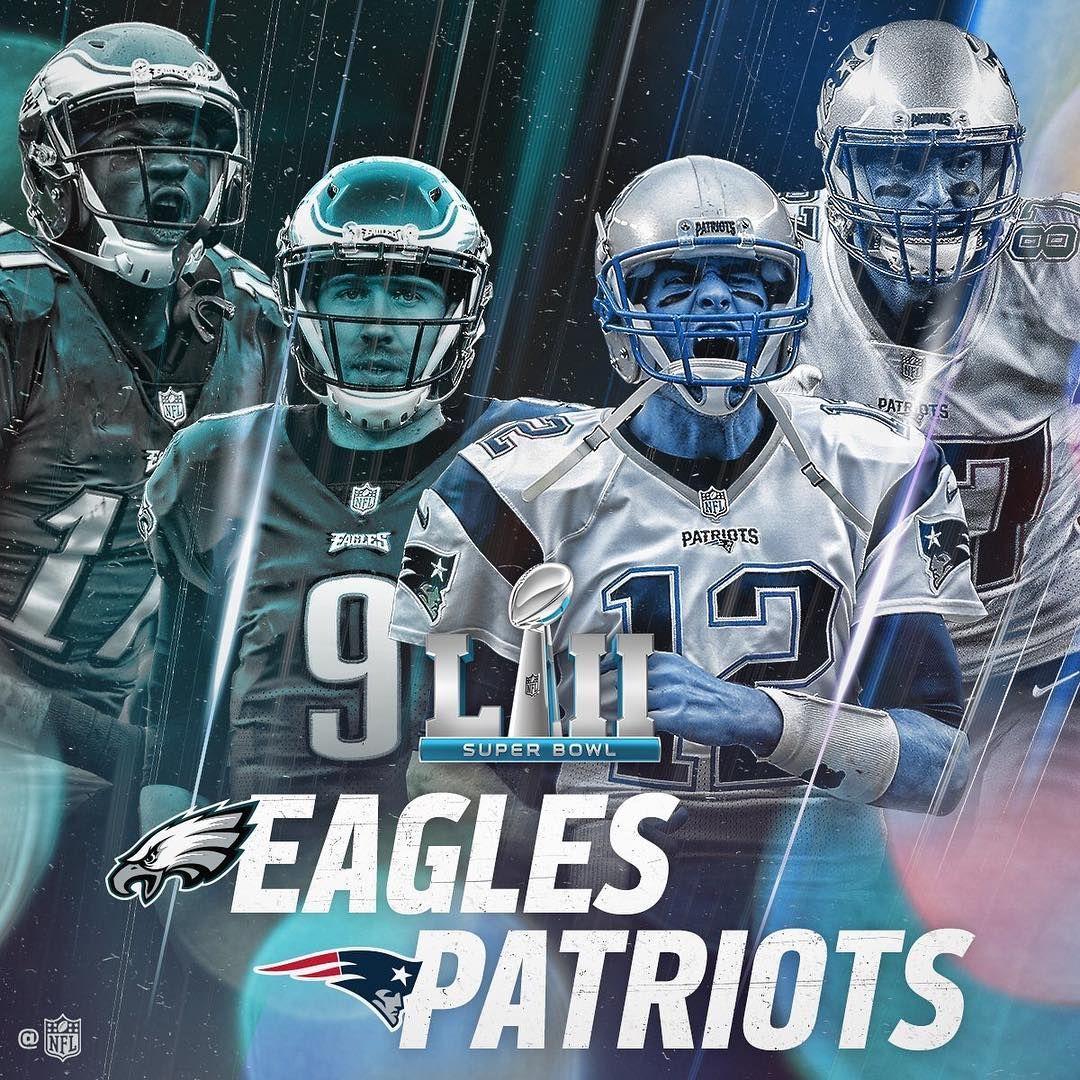 Nfl Nfl On Instagram It S Super Bowl Week Sblii Super Bowl Eagles Vs Eagles Football