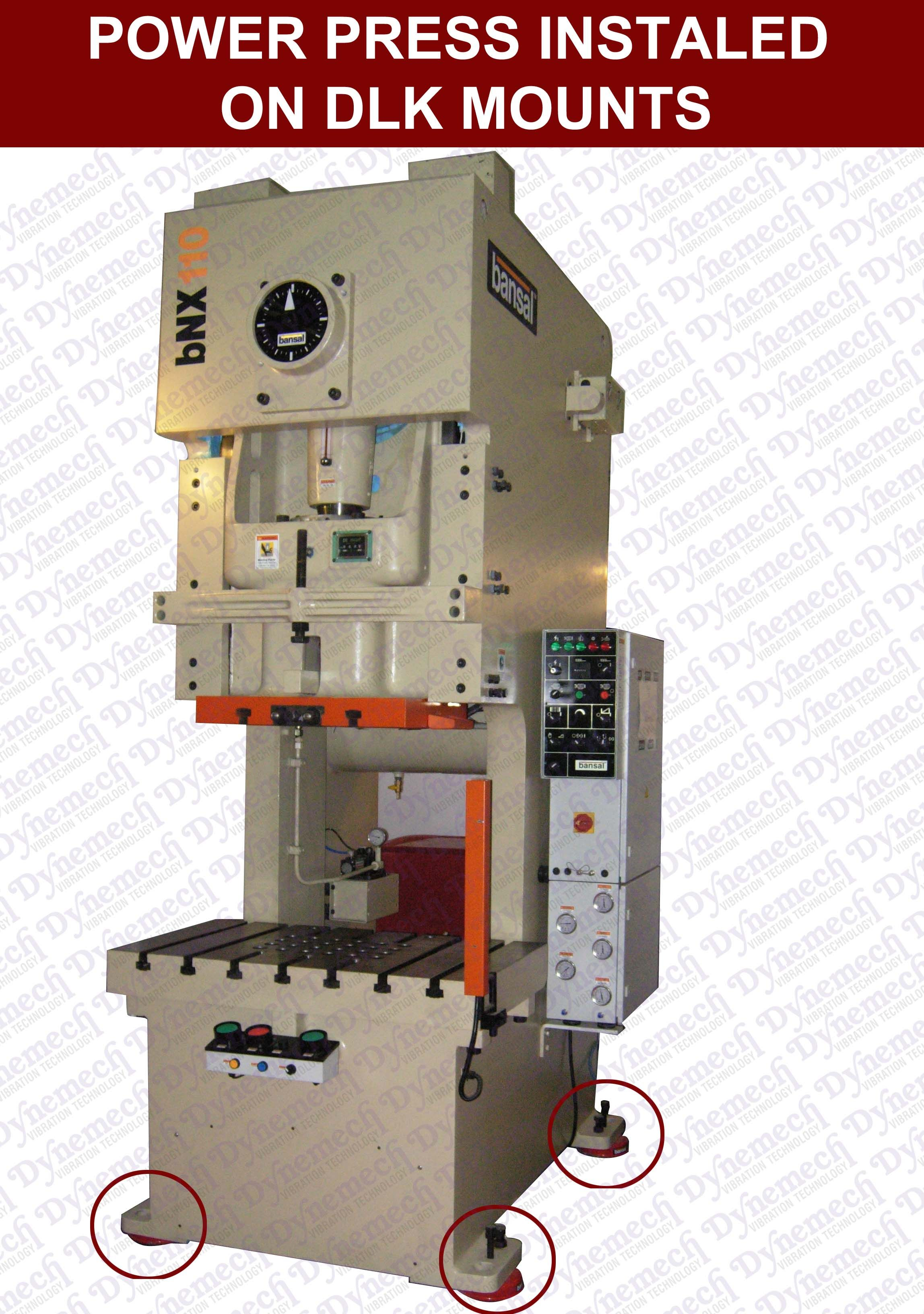 lowcost vibrationdampeners from dynemech Machine