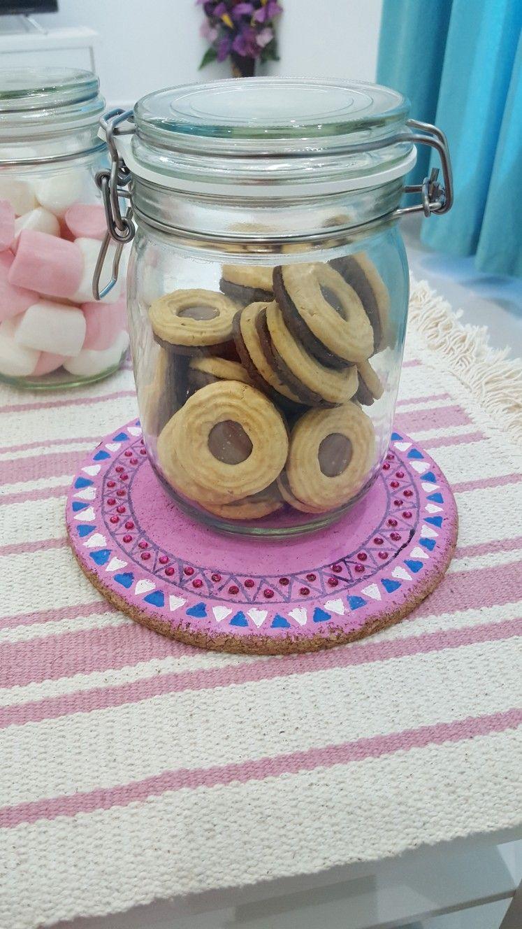 Pin by مروة on my creatives | Decorative jars, Decor, Jar