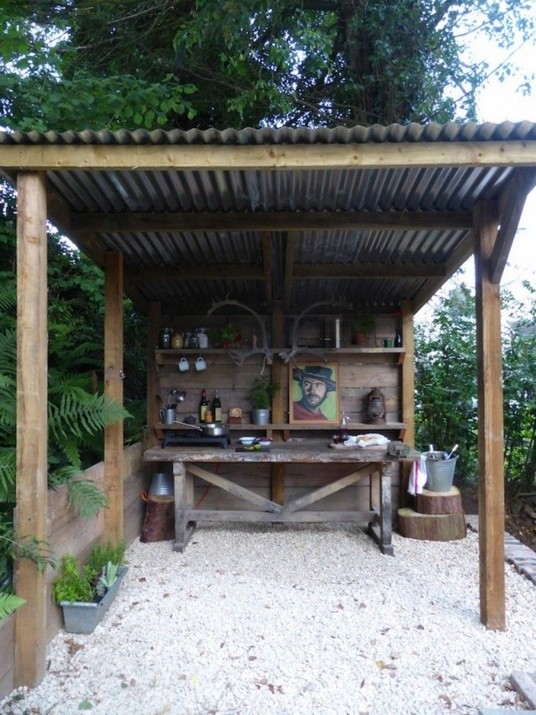 überdachung Outdoor Küche 15 Bright Ideas For Outdoor Kitchen Space Decor Ideas Outdoor