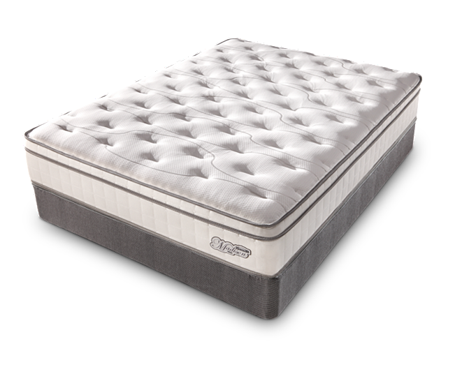 Madison Euro Top Mattress Boasts Convoluted Foam Layers Conform To Your Body Creating An Indulgent