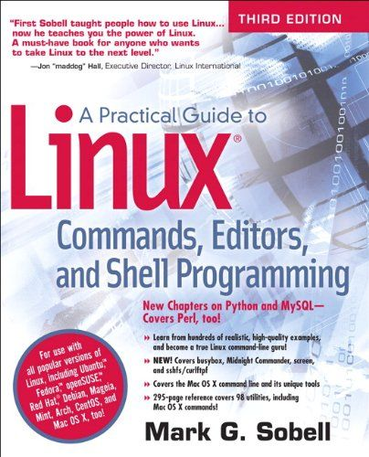 A Practical Guide To Linux Commands Editors And Shell Programming 3rd Edition Command Linux Ebook