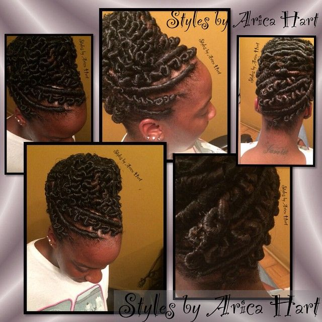 pin hair styles arica hart