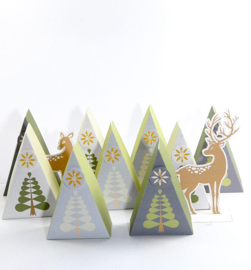 free printable advent calendar box 8 no l saint. Black Bedroom Furniture Sets. Home Design Ideas