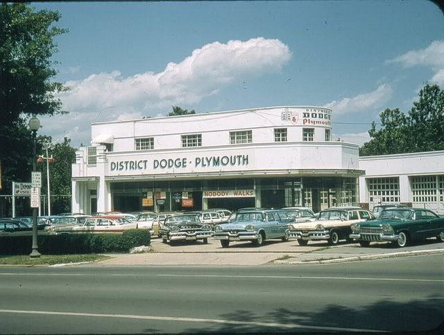 Dodge Plymouth Dealership 1957 Plymouth Dodge And Cars