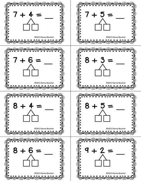 Make a Ten Strategy for Addition.pdf - Google Drive | Kids ...