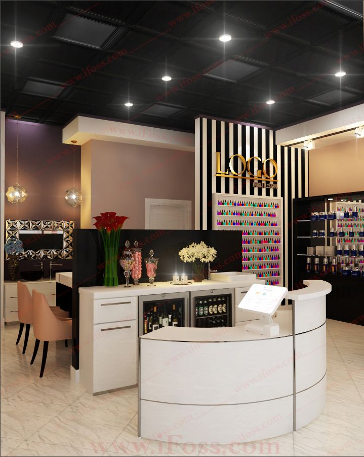 Reception Area Design Design & Furniture Project by iFoss ...