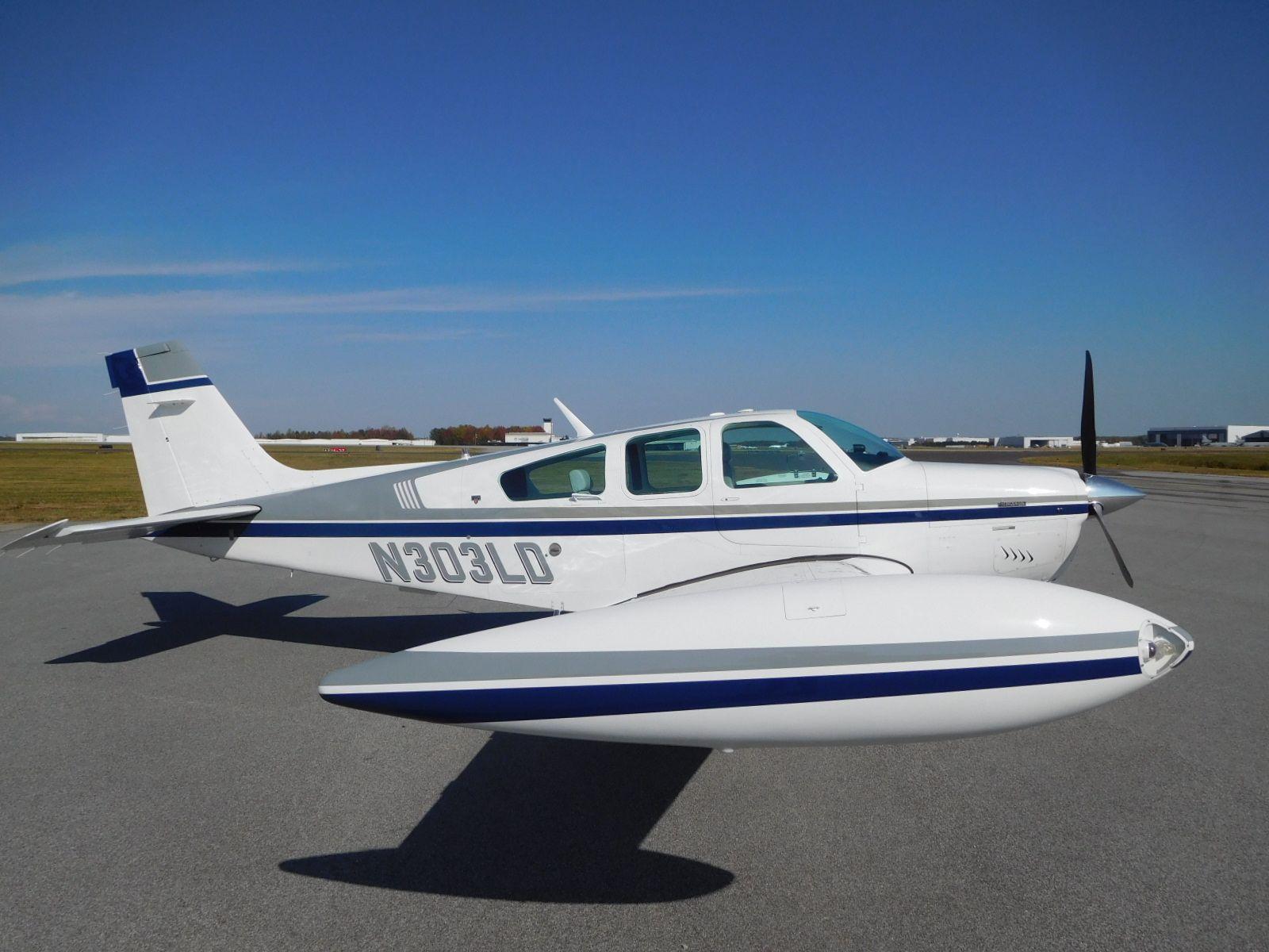 1990 Beechcraft Bonanza F33A TN for sale in NC United States