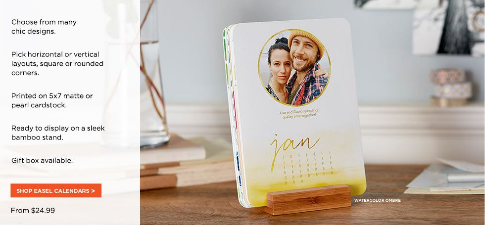 Personalized Photo Calendars Custom Calendar Shutterfly