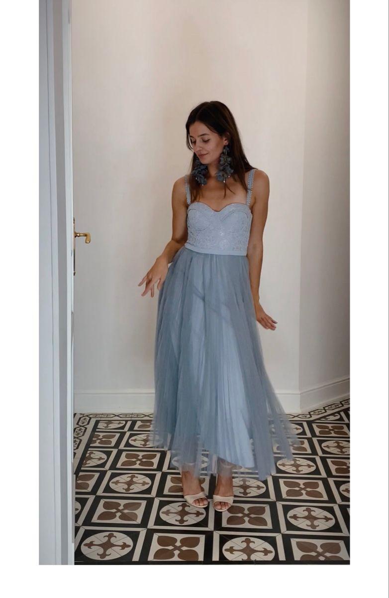 Elle Zeitoune Piper Silver Wypozycz Juz Za 320 00zl Strapless Dress Formal Dresses Formal Dresses