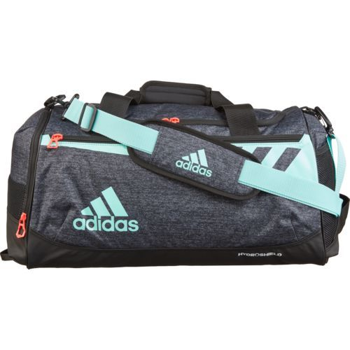 5c0beb89bb Adidas Team Issue Small Duffel Bag Grey Turquoise or Aqua - Athletic Sport  Bags at Academy Sports