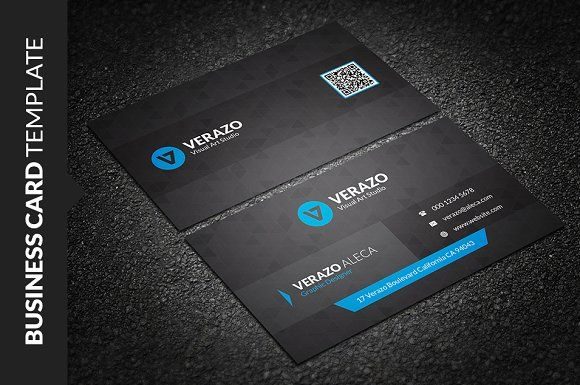 Modern Stylish Business Card Business Cards Card Templates And
