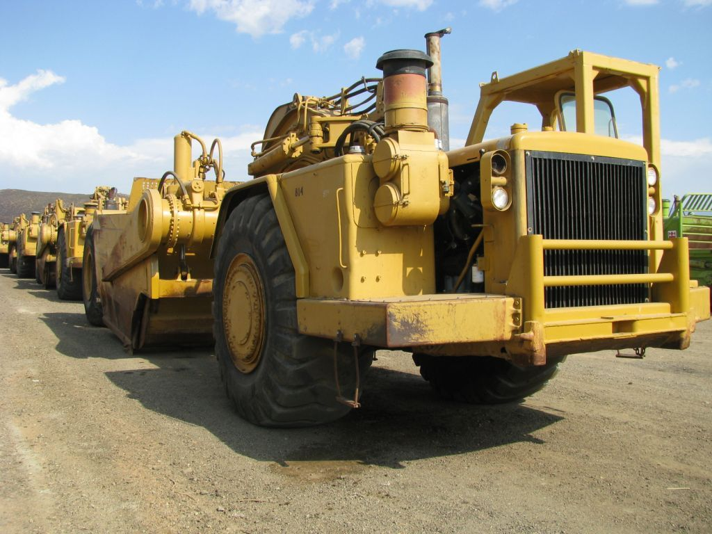 caterpillar scrapers RePowered 651B Cat Scrapers
