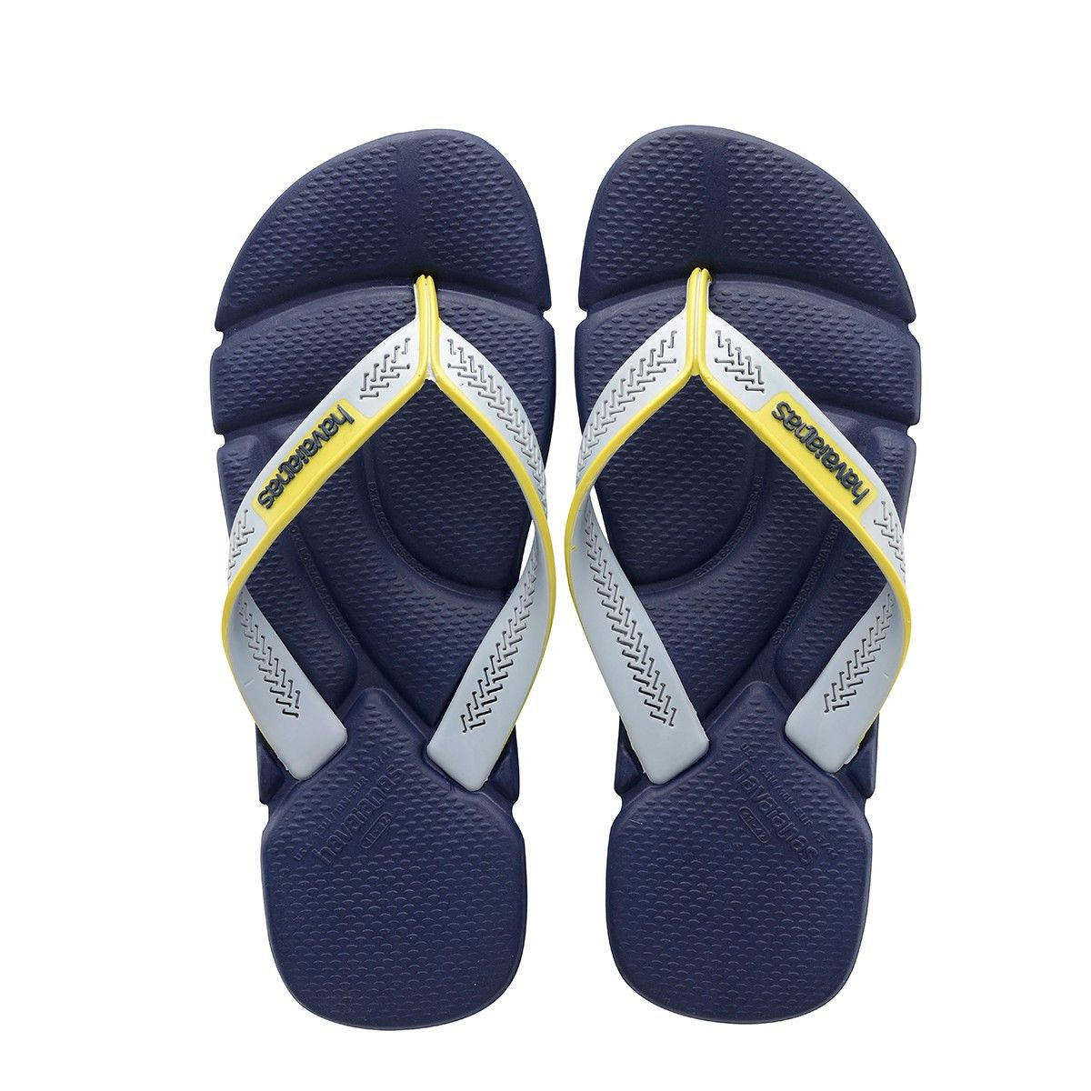 bff3aa136 Havaianas Power Navy Blue Grey Ice Flip Flop Price From  £16.72
