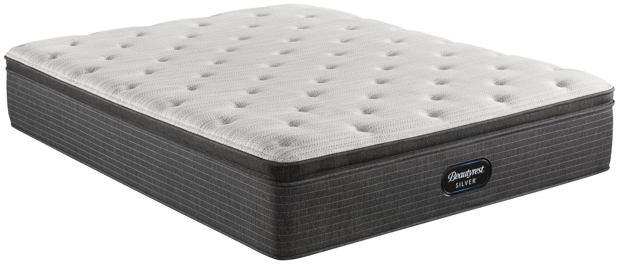 Beautyrest Silver Plush Pillow Top Twin Mattress Brampton In