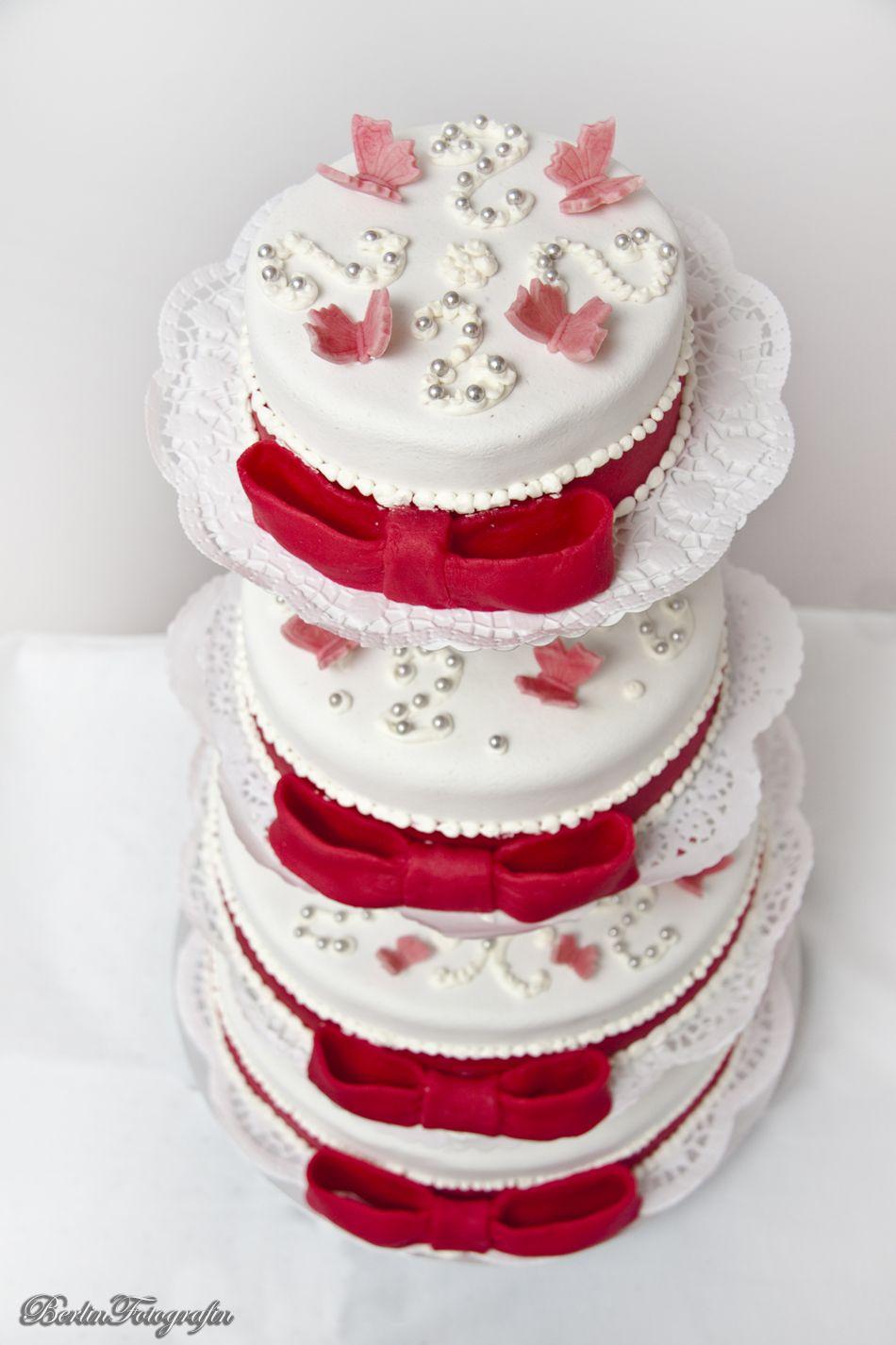 Just Married Wedding Hochzeit Liebe Hochzeitstorte Torte Cake