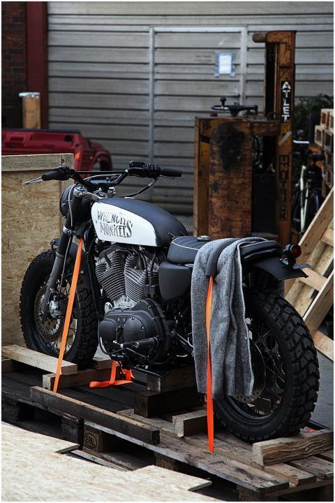 MONKEE #28 Harley Davidson Sportster #harleydavidsonsportster883 ...