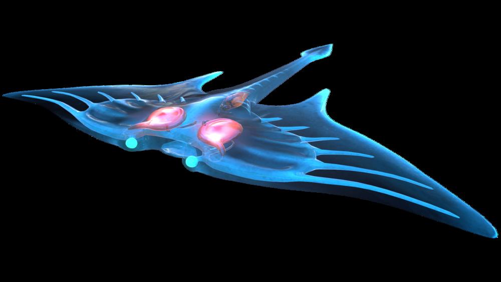 Ghostray Subnautica Wiki Fandom Powered By Wikia Subnautica Creatures Manta Ray Art Fauna