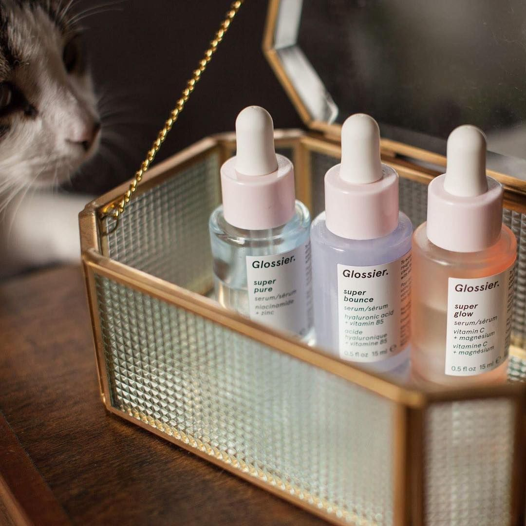 Glossier super pure hydrating serums. Ethical Bunny's